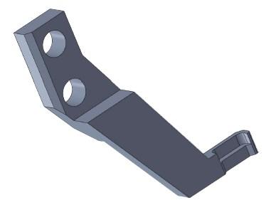 生産設備用ツメ部品の磨耗