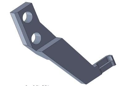 生産設備用ツメ部品を再生(リバースエンジニアリング)