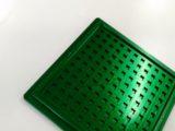 チップトレイ 硬質アルマイト カラーアルマイト