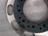 ベース・旋盤加工・精密加工部品・セラミック溶射