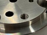 シャフト SUS316L  旋盤加工 試作部品加工 最短納期